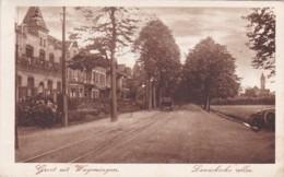 185464Groet Uit Wageningen, Lawicksche Allee (kleine Vouwtjes In De Hoeken) - Wageningen