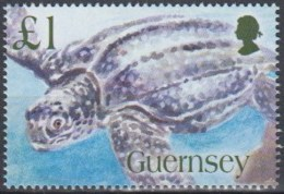 Guernsey 2006 (MNH) - Mi 1075:  Leatherback Sea Turtle (Dermochelys Coriacea) - Tortues