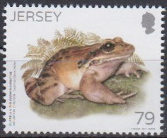 Jersey 2017 (MNH) - Michel 2126:  Mountain Chicken (Leptodactylus Fallax) - Grenouilles