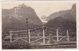 Boundary: Alberta - 'The Great Divide' - British Columbia - Monument - Telegraph Pole  -  (Canada) - Alberta