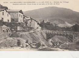 LA BOLLINE VALDEBLORE ,Entrée Village,station Estivale,cure D'eau Et De Lait (correspondance Militaire 1916 Abbé Belge - Autres Communes