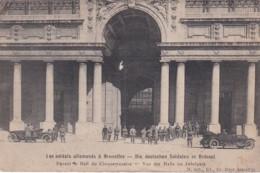 18593Bruxelles, Les Soldats Allemands à Bruxelles Devant Te Hall Du Cinquantenaire. - Belgium
