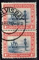 SWA 1931, Michel# 142 - 145 O Waagerechter Bzw Senkr. Zusammendruck - Zuidwest-Afrika (1923-1990)