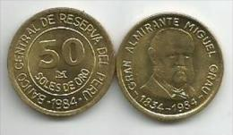 Peru 50 Soles De Oro 1984. High Grade - Peru
