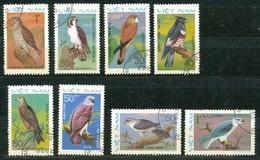 VIETNAM - Mi.Nr.   1232 - 1239  -  Gestempelt  Greifvögel. - Vietnam