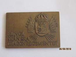 Sweden: Table Medal Kungl Skanska Dragonregementet (Westins Stokholm) - Militari