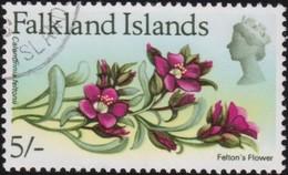 Falkland Islands     .   SG  .       244     .        O      .   Cancelled       .   /    .   Gebruikt - Falklandeilanden