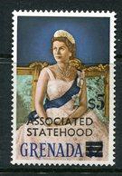 Grenada 1968 Surcharge - $5 On $2 Queen Elizabeth II MNH (SG 295) - Grenada (...-1974)