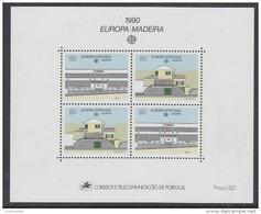 Europa Cept 1990 Madeira M/s ** Mnh (42621) - 1990