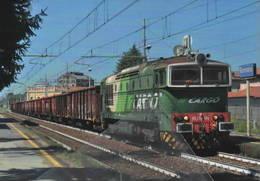 576 DE 520.10 FM Stazione Romano Di Lombardia Bergamo Rairoad Treain Railweys Treni Rotabili - Stazioni Con Treni