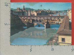 CARTOLINA VG ITALIA - FIRENZE - Ponte Vecchio - 10 X 15 - ANN. 1961 - Firenze