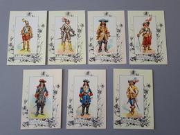 Cartes Reproductions De Dessin : Uniformes De Cuirassiers 1635 à 1690  & - Other