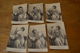 Carte Postale 1910 Série De 6 Cartes Femmes Série La Layette - Femmes