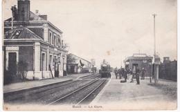 27 Eure -  BUEIL - Train En Gare - Gares - Avec Trains