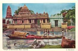 Inde - By D. Mordecal - Calcutta - Temple At Keoratollah Ghat - C 6 - Inde