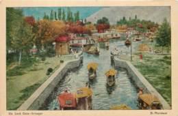 Inde - By D. Mordecal - Kashmir - Srinagar - De Lock Gate - India