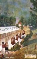 Inde - Skri Lanka - Ceylon - Lipton Séries -Ceylon - Tea Arriving At Foot Of Aerial Ropeway - Sri Lanka (Ceylon)