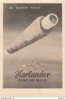 AK - (Reklame) In Jedem Haus - HARLANDER Zwirn Und Wolle 1926 - Werbepostkarten