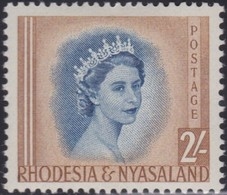 Rhodesia&Nyasaland .   SG  .      11       .     *       .    Mint-hinged     .   /    . Ongebruikt - Rhodésie & Nyasaland (1954-1963)