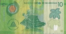 Billets - Nicaragua  - 10 Cordobas - 2014 - Circulé - - Nicaragua