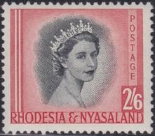Rhodesia&Nyasaland .   SG  .      12      .     *       .    Mint-hinged     .   /    . Ongebruikt - Rhodésie & Nyasaland (1954-1963)