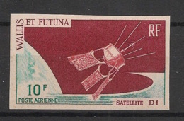 Wallis Et Futuna - 1966 - PA N°Yv. 26 - Satellite D1 - Non Dentelé / Imperf. - Neuf Luxe ** / MNH / Postfrisch - Océanie
