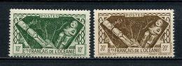 OCEANIE 1942 N° 153/154 ** Neufs MNH Superbes C 5,40 € Tahitienne - Océanie (Établissement De L') (1892-1958)