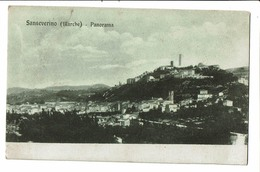 CPA- Carte Postale - Italie- San Severino Panorama- VM2858 - Macerata