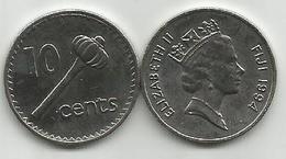 Fiji 10 Cents 1994. High Grade - Figi