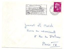 DORDOGNE - Dépt N° 24 = BRANTOME 1968 = FLAMME Codée = SECAP Illustrée 'VENISE Du PERIGORD ' - Postmark Collection (Covers)