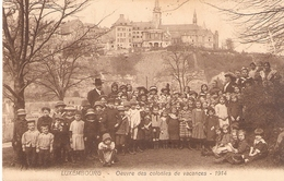 Luxembourg: Oeuvre Des Colonies De Vacances - 1914 - Luxembourg - Ville