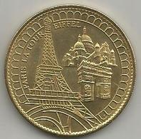 Paris La Tour Eiffel, 2009 Tresors De France, Mistura, Cm. 3,4. - Monnaie De Paris