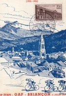 4 Juillet 1953 Cinquantenaire Du Tour De France Cyclisme      Gap Briançon - Wielrennen