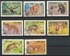 VIETNAM - Mi.Nr.   1155 - 1162 -  Gestempelt  Säugetiere. - Vietnam