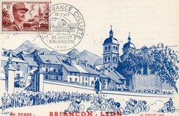 4 Juillet 1953 Cinquantenaire Du Tour De France Cyclisme  Briançon Lyon - Wielrennen