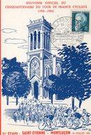 4 Juillet 1953 Cinquantenaire Du Tour De France Cyclisme   Saint étienne Montluçon - Wielrennen