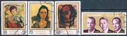 Ajman 1971  -  Michel   703 + 706 + 707 + 760    ( Usados ) - Ajman