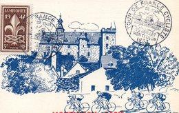 4 Juillet 1953 Cinquantenaire Du Tour De France Cyclisme Montluçon Paris - Wielrennen