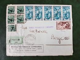 (36584) STORIA POSTALE ITALIA 1951 - 1946-.. République