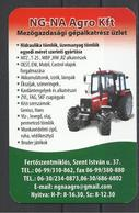 Hungary,  Unknown Type Of Agrimotor, By NG-NA Co., 2019. - Calendars