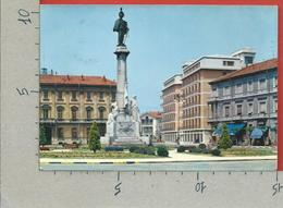 CARTOLINA VG ITALIA - VERCELLI - Monumento A Vittorio Emanuele II - 10 X 15 - ANN. 1965 - Vercelli