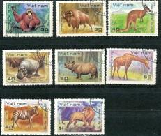 VIETNAM - Mi.Nr.   1189 - 1194 -  Gestempelt  Tiere - Vietnam