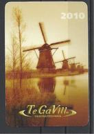Hungary, Windmills, Tegavill Co. Ad, 2010. - Calendars