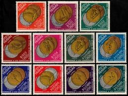~~~ Panama 1964 - Olympic Games Tokyo Gold Medals Good Set - Mi. 785/795 ** MNH OG ~~~ - Panama