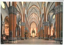 Tematica  Bologna Basilica Di S. Petronio – Interno 11/05/1982 Non Viaggiata Condizioni Come Da Scansione - Churches & Cathedrals
