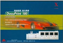 19/5  China Chine Entier Postal Non Voyage Informatique Automobile Voiture - Autosport - F1