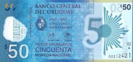 Uruguay - 50 Pesos 2017 - Série A - N° 02212421 - Neuf - Non Circulé - - Uruguay