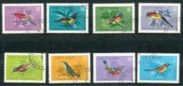 VIETNAM - Mi.Nr.   1171 - 1178 -  Gestempelt    Vögel. - Vietnam
