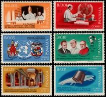 ~~~ Panama 1966 - Pope Paul VII And Space - Mi. 862/867 ** MNH OG ~~~ - Panama