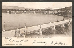 Carte P ( Genève / Pont Du Montblanc ) - GE Genève